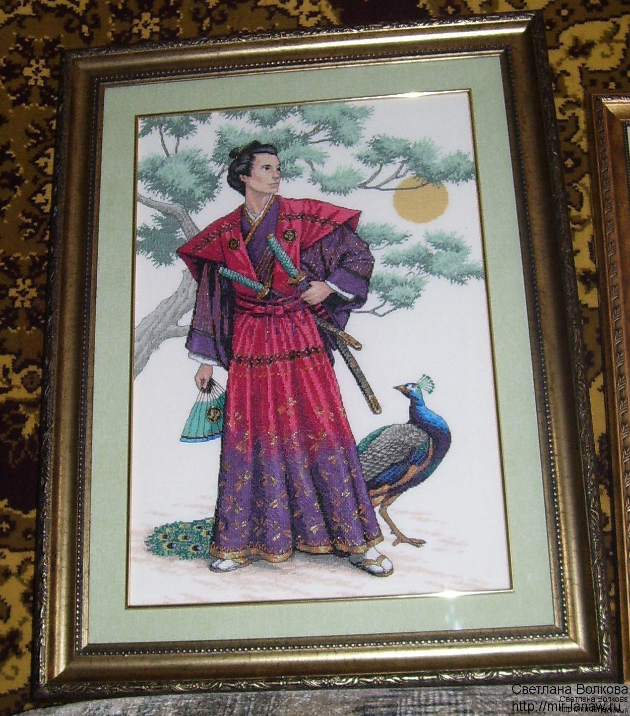 Величественный самурай.