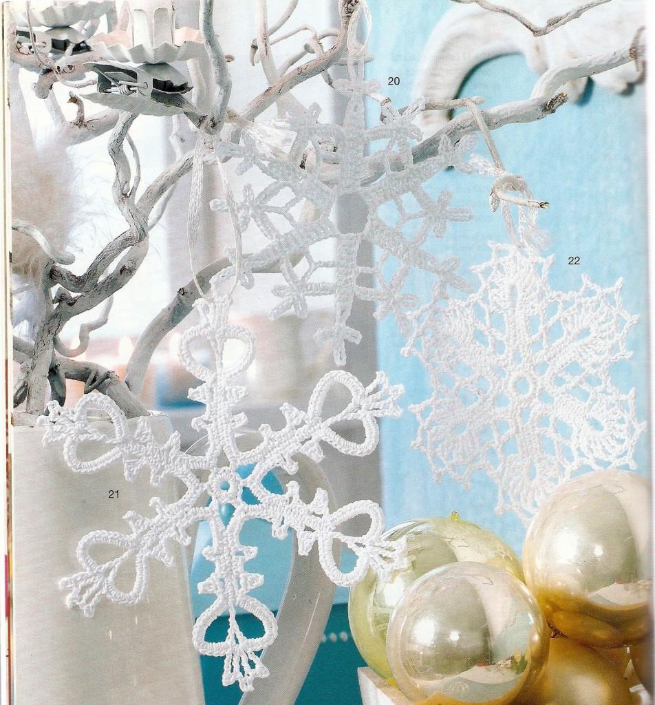 Digitalizar0029 952x1024 Снежинки на елку (вязание крючком)