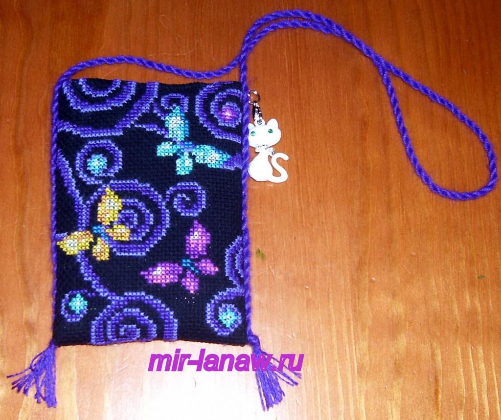 Как сделать своими руками сумочку для мобильного телефона