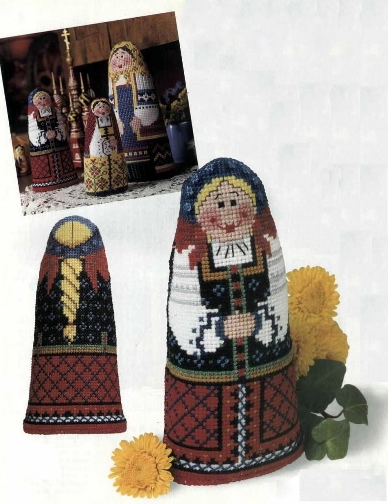 Объемные игрушки вышивка схемы