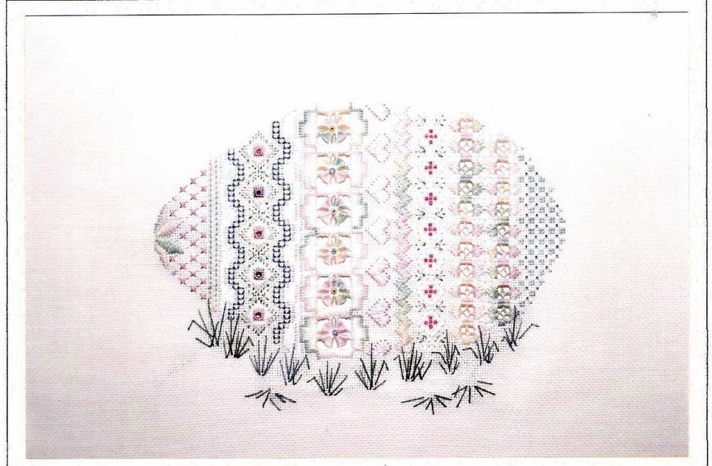 K.Elaine Kramer Designs Egg I 1024x670 Пасхальные яйца в технике хардангер