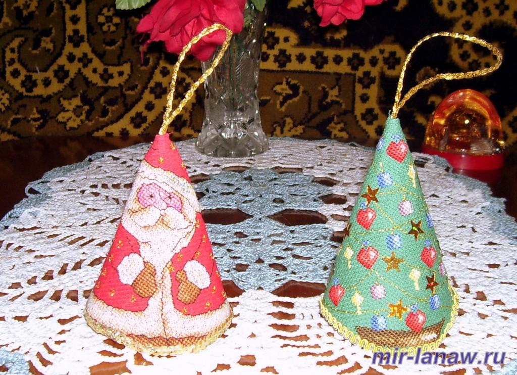 Дед Мороз и ёлочка 1