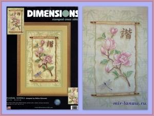Dim 3203_Floral_Scroll